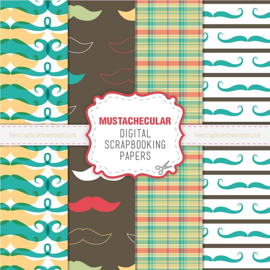 Mustachecular Mustache Papers thumbnail
