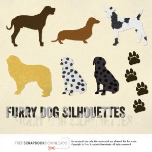 Free Dog Scrapbook Embellishments