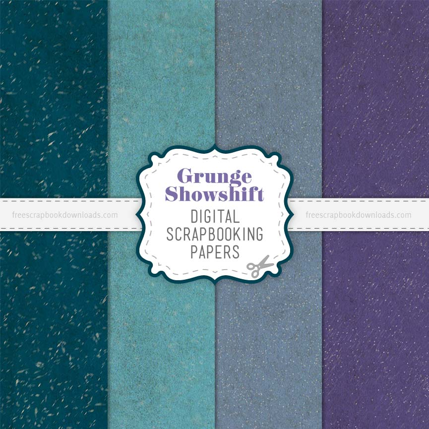 Snowshift Weathered Grunge Scrapbook Papers thumbnail