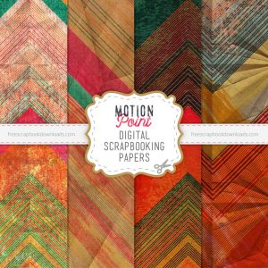 Motion Point Grunge Scrapbook Papers