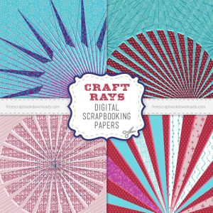 Art Rays Crafty Digital Scrapbook Papers